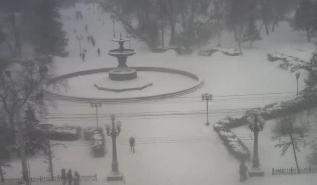 Омская вебкамера 2014-11-26 16-02-47. Метель