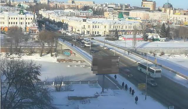 Омская вебкамера на Лермонтова от 2014-11-27 14-35-13