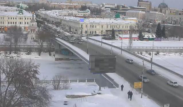 Омская вебкамера на Ленина, 20 от 2014-12-12 12-14-20