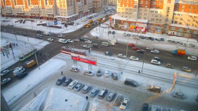 Вебкамера на Масленникова в Омске от 2015-02-18 09-27-51