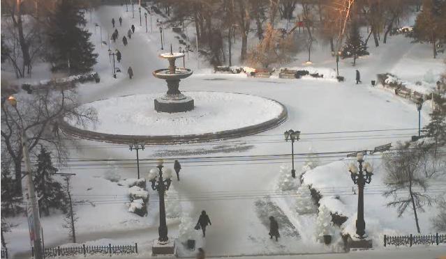 Вебкамера на мэрии Омска 2015-02-20 08-53-46