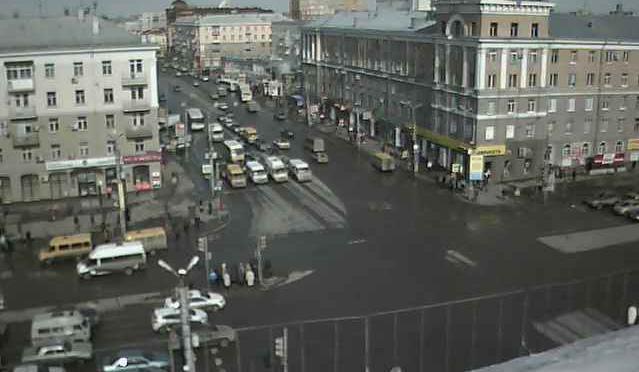 Вебкамера на Ленинградской площади Омска за 2015-03-23 13-08-33