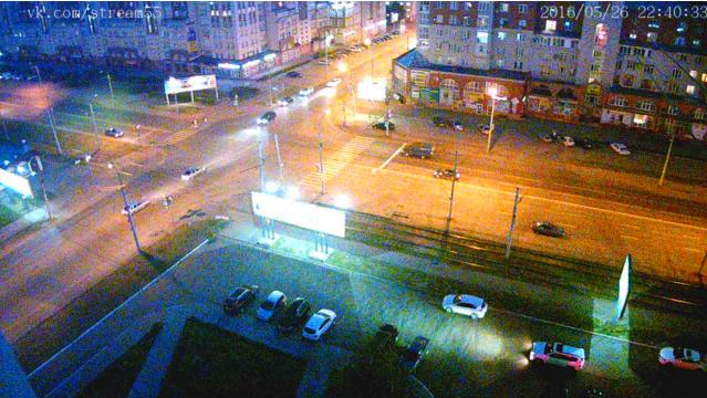 Омск через вебкамеру 26 мая 2016 год
