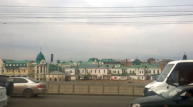 Улица Бударина в Омске